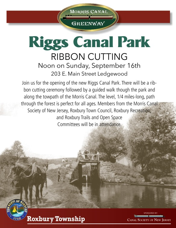 Riggs Canal Park Ribbon Cutting
